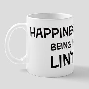 Happiness is Linyi Mug