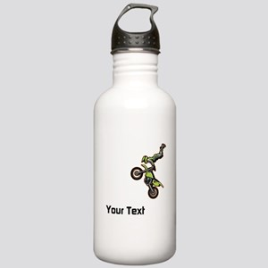 Motorbike Jump Stainless Water Bottle 1.0L