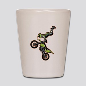 Freestyle Motocross Shot Glass