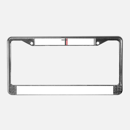 Mustang BWR License Plate Frame