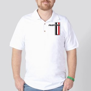 Mustang BWR Golf Shirt