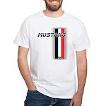 Mustang BWR White T-Shirt