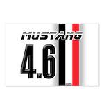 Mustang 4.6 Postcards (Package of 8)