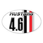 Mustang 4.6 Sticker (Oval)