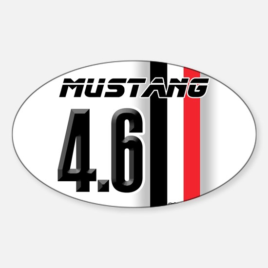 Mustang 4.6 Sticker (Oval)