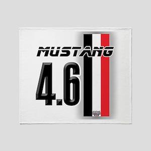 Mustang 4.6 Throw Blanket