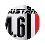 Mustang 4.6 Ornament (Round)