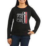 Mustang 4.6 Women's Long Sleeve Dark T-Shirt