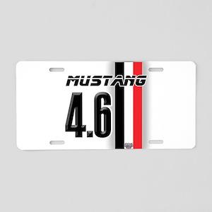 Mustang 4.6 Aluminum License Plate