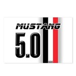 Mustang 5.0 BWR Postcards (Package of 8)