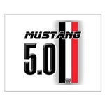 Mustang 5.0 BWR Small Poster
