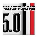Mustang 5.0 BWR Tile Coaster