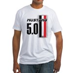 Mustang 5.0 BWR Fitted T-Shirt