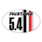 Mustang 5.4 BWR Sticker (Oval)