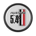 Mustang 5.4 BWR Large Wall Clock