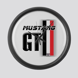 Mustang GT BWR Large Wall Clock