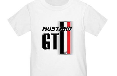 Mustang Gt Bwr Toddler T Shirt