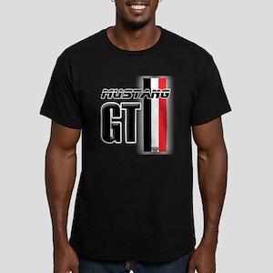 Mustang GT BWR Men's Fitted T-Shirt (dark)