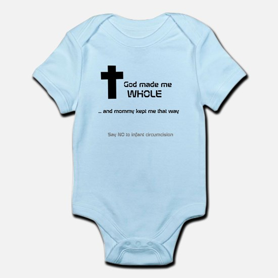 God made me whole Body Suit