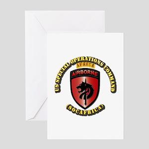 SOF - USSOC - SOCAFRICA - SSI Greeting Card