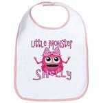 Little Monster Shelly Bib