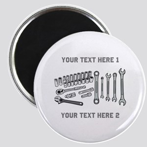 Wrenches with Text. Magnet