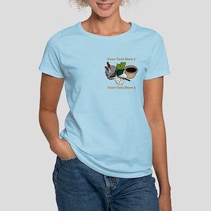 Gardening. Custom Text Women's Light T-Shirt