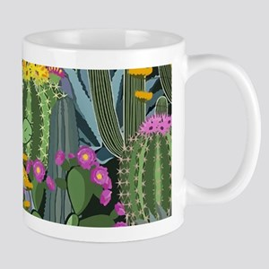 Simple Graphic Cactus Garden Mugs