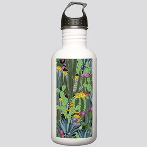 Simple Graphic Cactus Stainless Water Bottle 1.0L