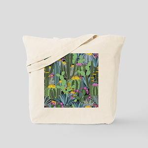 Simple Graphic Cactus Garden Tote Bag