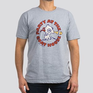 Party at the Goat House Men's Fitted T-Shirt