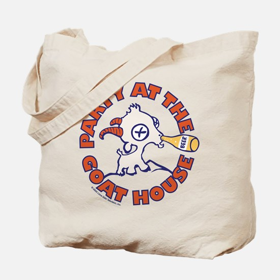 Party at the Goat House Tote Bag