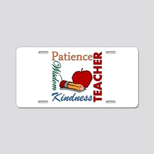 Teacher Aluminum License Plate