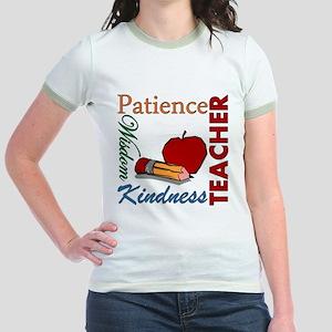 Teacher Jr. Ringer T-Shirt