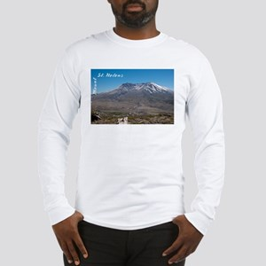 Mount St Helens Long Sleeve T-Shirt