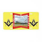 Florida Freemasons Aluminum License Plate