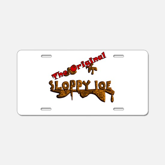 The Original Sloppy Joe V3.0 Aluminum License Plat