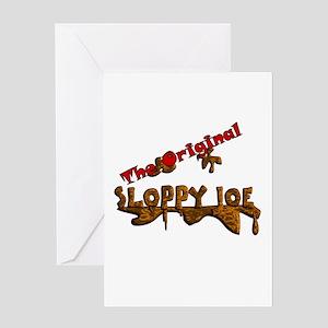 The Original Sloppy Joe V3.0 Greeting Card