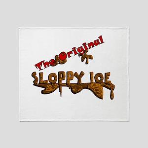 The Original Sloppy Joe V3.0 Throw Blanket