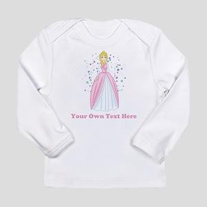 Princess. Custom Text. Long Sleeve Infant T-Shirt