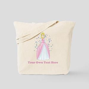 Princess. Custom Text. Tote Bag