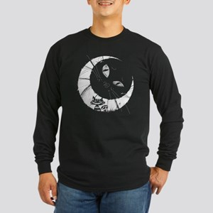 Cheshire Moon Long Sleeve Dark T-Shirt