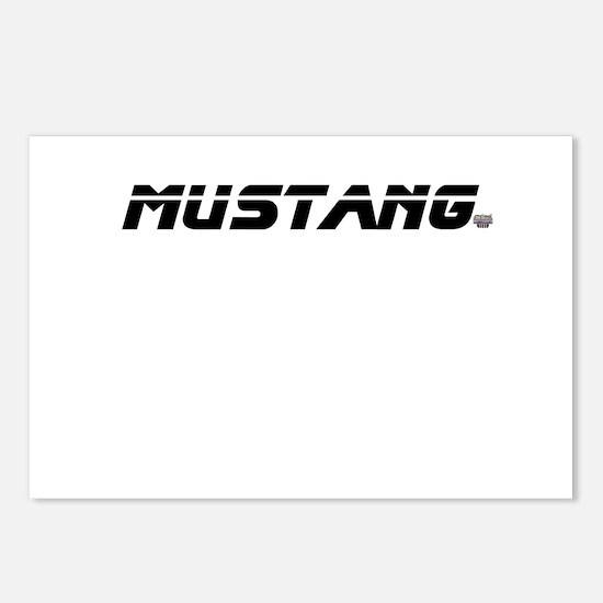 Mustang 2012 Postcards (Package of 8)