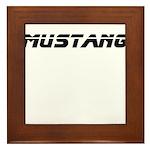 Mustang 2012 Framed Tile