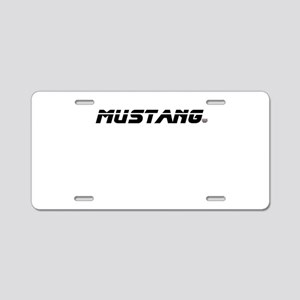 Mustang 2012 Aluminum License Plate