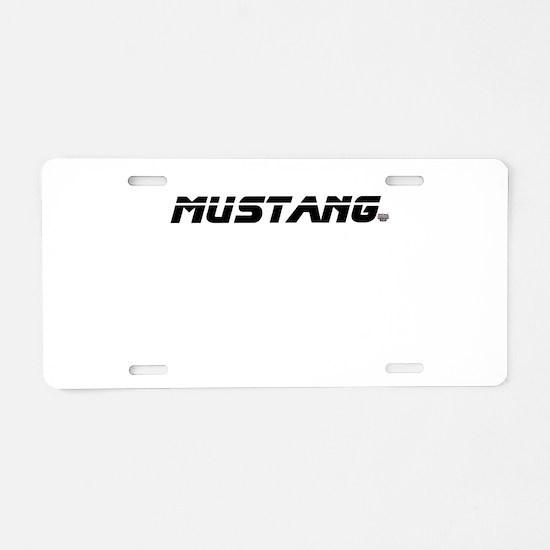 Mustang 2012 Aluminum License Plate
