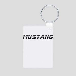 Mustang 2012 Aluminum Photo Keychain