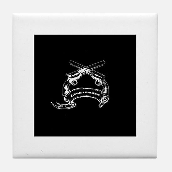 Gunslingers Tile Coaster