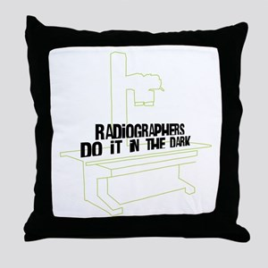 Includes X-Ray Specs. Throw Pillow