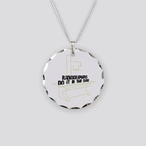 Includes X-Ray Specs. Necklace Circle Charm